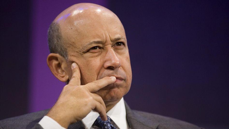 Das Warten hat sich gelohnt: Goldman-Sachs-Chef Lloyd Blankfein löst Aktienoptionen aus dem Jahr 200 ein - und macht einen Millionengewinn