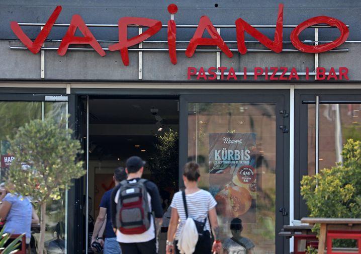 Angeschlagene Restaurantkette: Vapiano befindet sich in einem Insolvenzverfahren und soll nun verkauft werden.