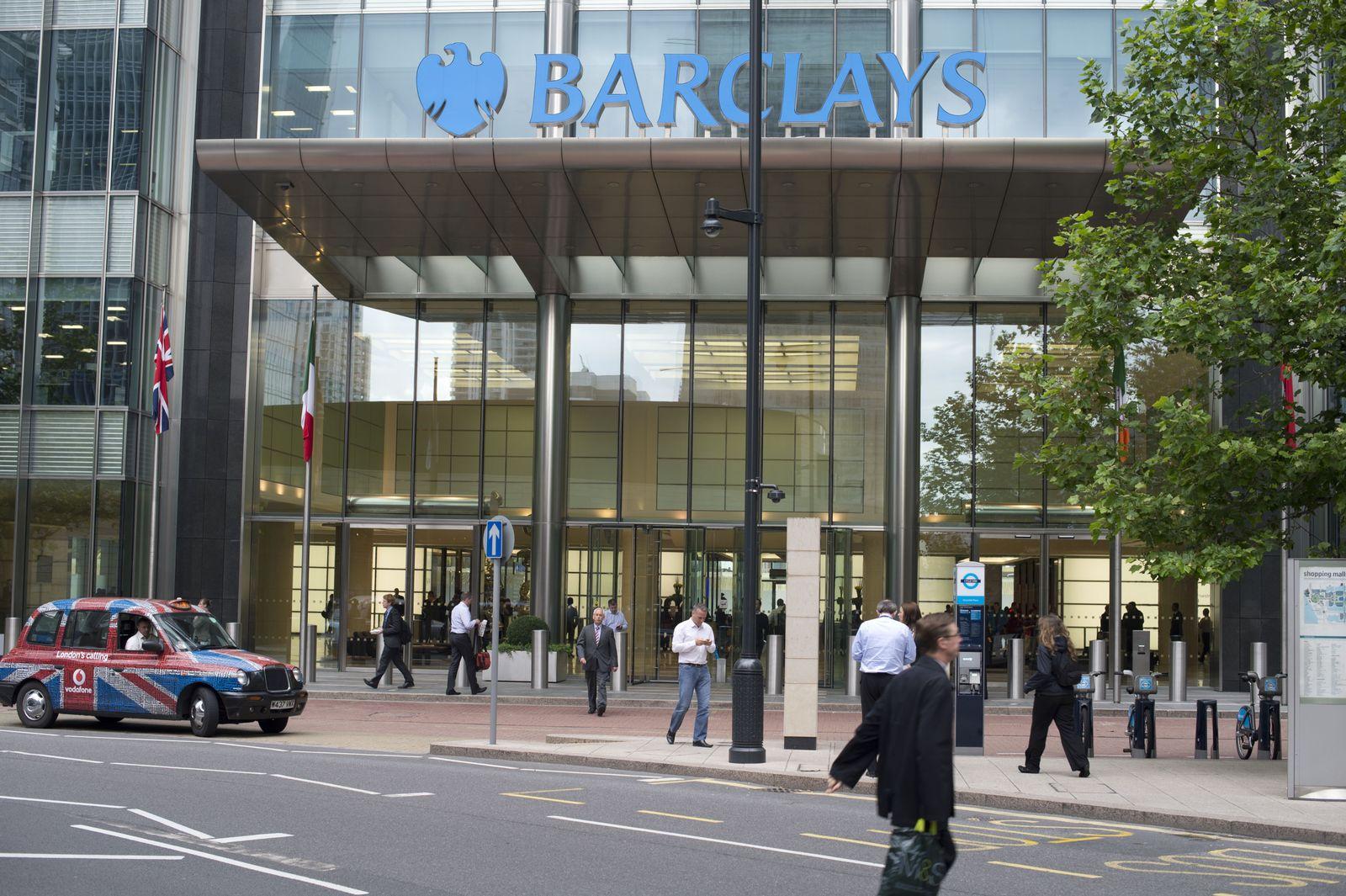 NICHT VERWENDEN Barclays
