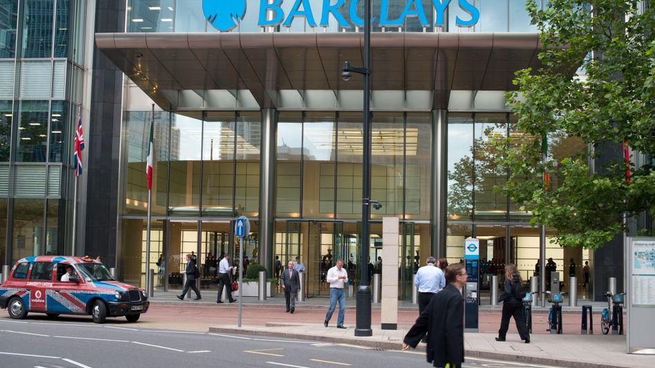 In Bedrängnis: Die britische Barclays Bank sieht sich Anlegerklagen ausgesetzt