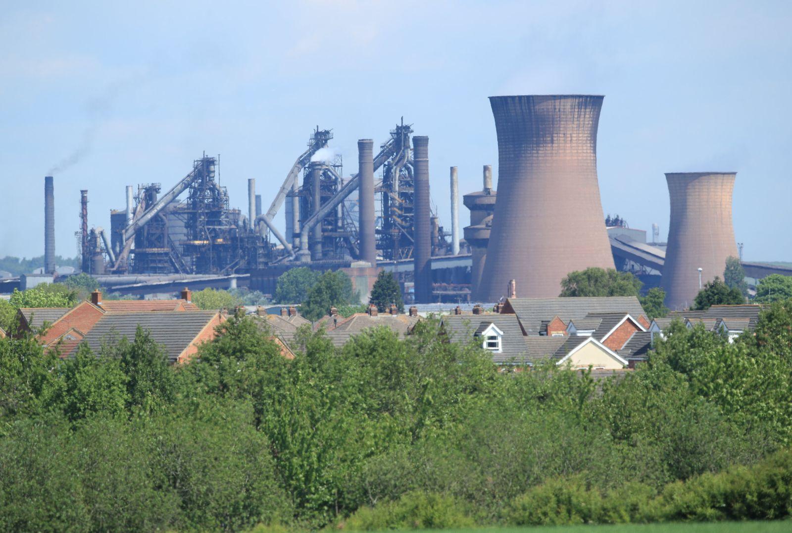British Steel Großbritannien Industrie