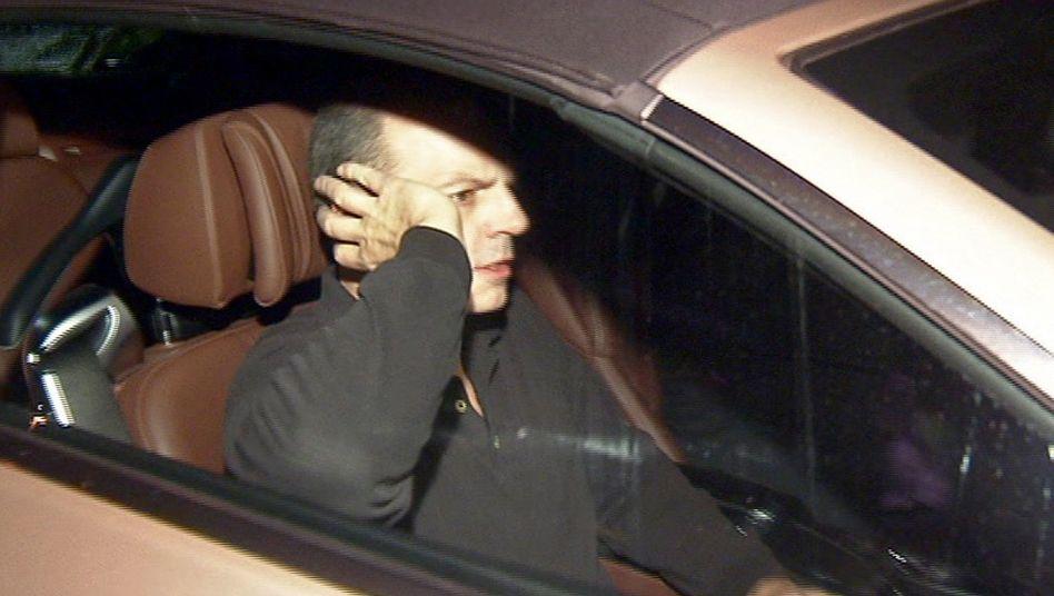 Damals ging es noch raus aus dem Gefängnis: Reemtsma-Entführer Thomas Drach im Jahr 2013 bei seiner Entlassung