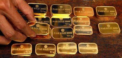 Goldbarren: Die Menge an Gold auf der Welt ist begrenzt, weil kaum noch neue Vorkommen erschlossen werden.