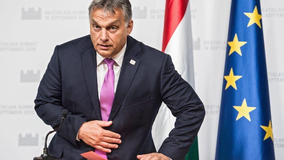 Victor Orban: Schande für Europa