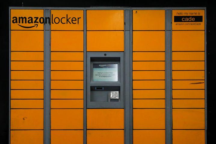 Amazon Locker. Auch in Deutschland werden die Packstationen immer zahlreicher