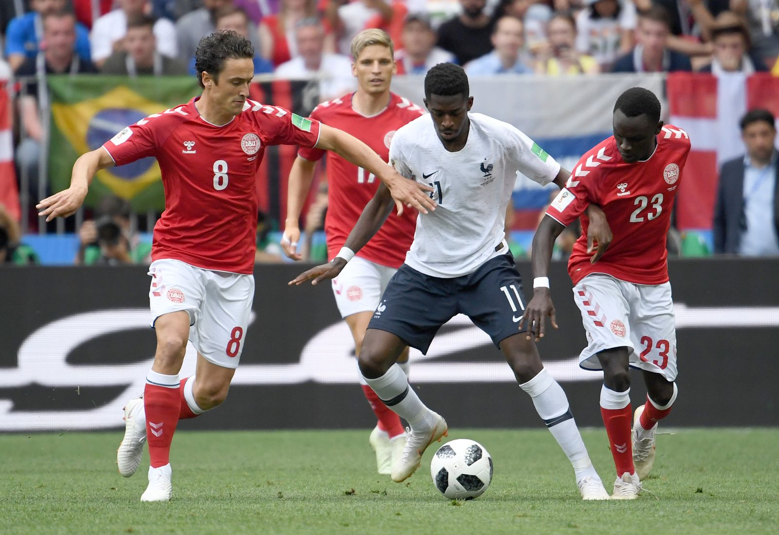 WM 2018 - Dänemark - Frankreich