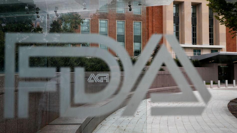 FDA-Gebäude in Silver Spring (US-Staat Maryland)