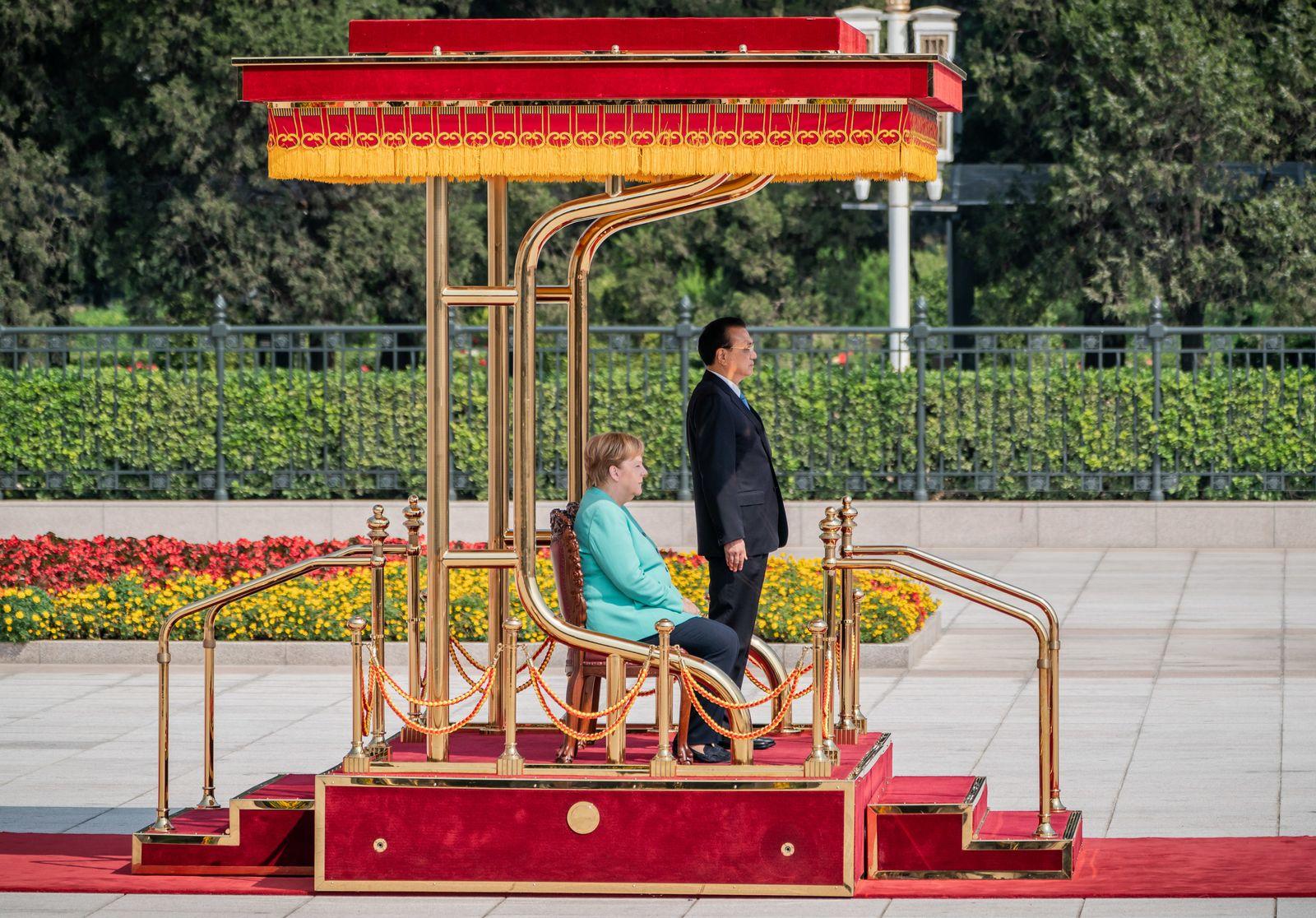 Bundeskanzlerin Angela Merkel in China