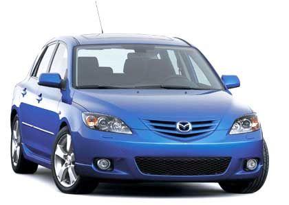 Angriffslustiges Gesicht in der Kompaktklasse: Mazda 3