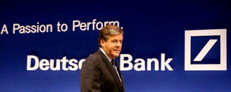 """Räumt """"Schwächen"""" der eigenen Bank ein: Der stolze Investmentbanker Ackermann zeigt einen Anflug von Läuterung."""