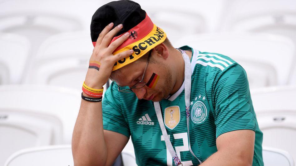 Kollektive Depression: Das WM-Aus in Russland war einer der großen Stimmungskiller.