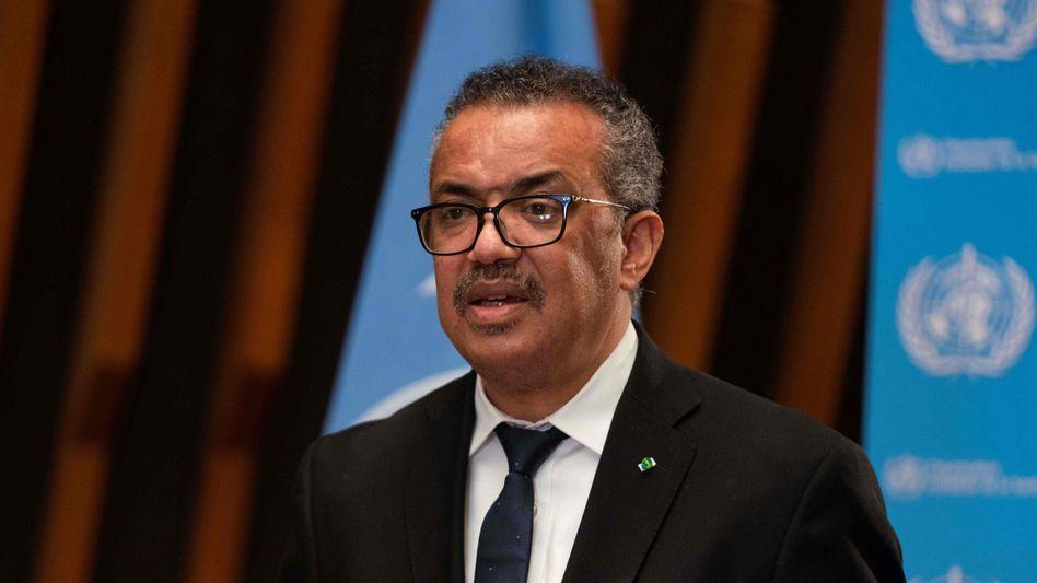 Aufgebracht: WHO-Generaldirektor Tedros Adhanom Ghebreyesus
