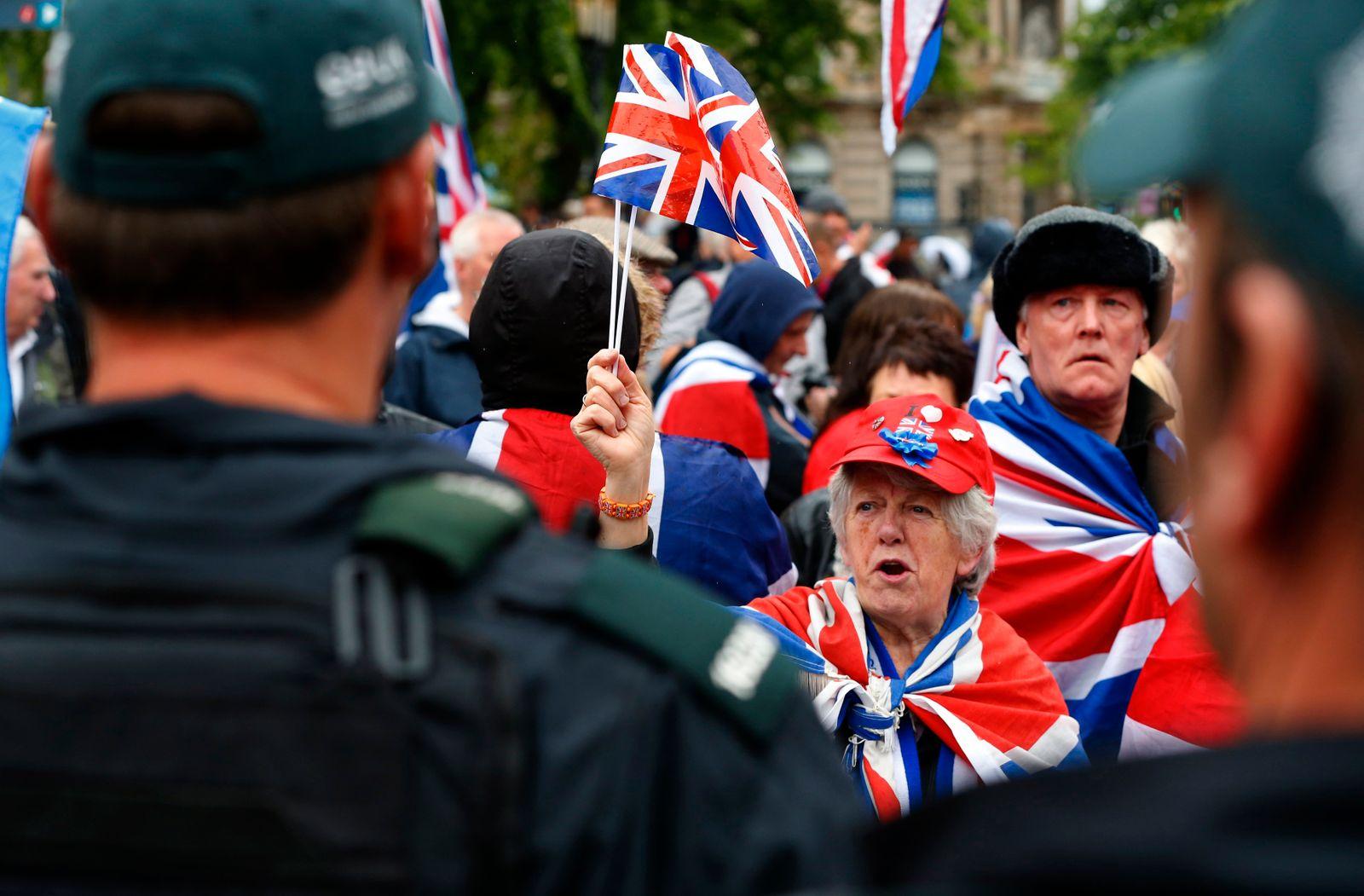 UK-G8-SUMMIT/PROTEST
