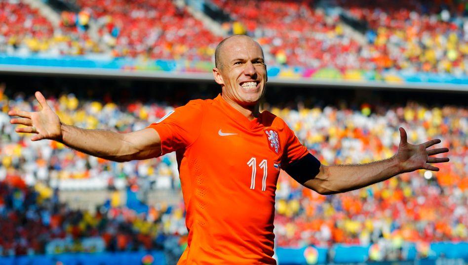 Arjen Robben: Nike setzte zuletzt deutlich mehr in Europa um
