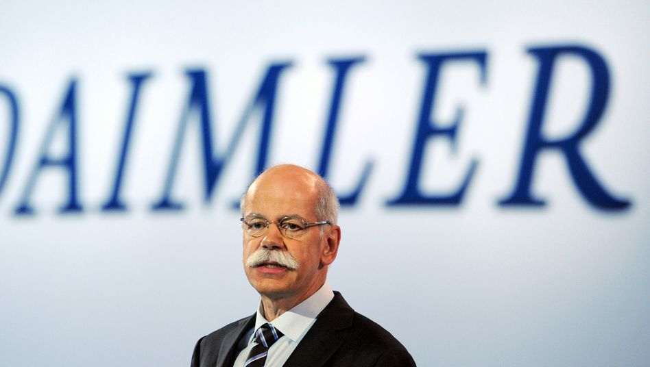 Hinkt hinterher: Daimler-Chef Zetsche will BMW und Audi einholen