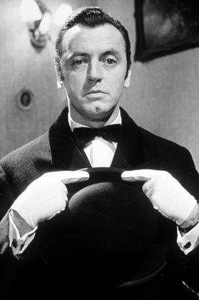 Butler Parker (Eddie Arendt) hilft im Edgar-Wallace-Film Verbrechen aufzuklären