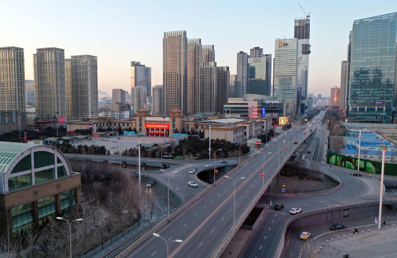Coronavirus - China / Straße
