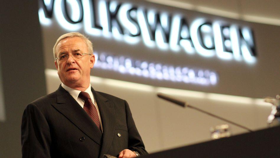 Automann und Steuertrickser: VW-Chef Winterkorn hat den historischen Deal durchgezogen
