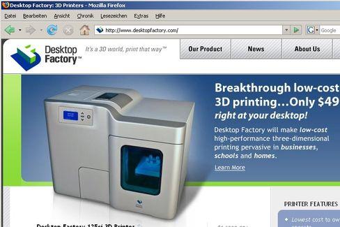 Desktop Factory 125ci: Für 4995 Dollar ein regelrechtes Schnäppchen unter den 3D-Druckern