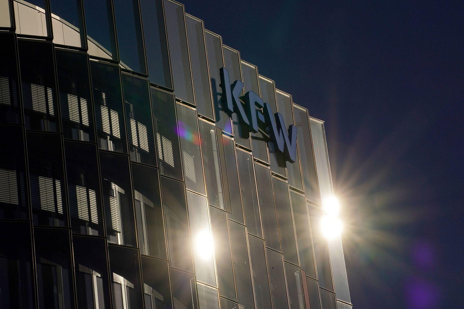 Corona-Virus / 23.03.2020, Flughafen, Frankfurt, Corona-Virus , im Bild KFW Ipex Bank in der Zeppelinallee 8 in Frankfur