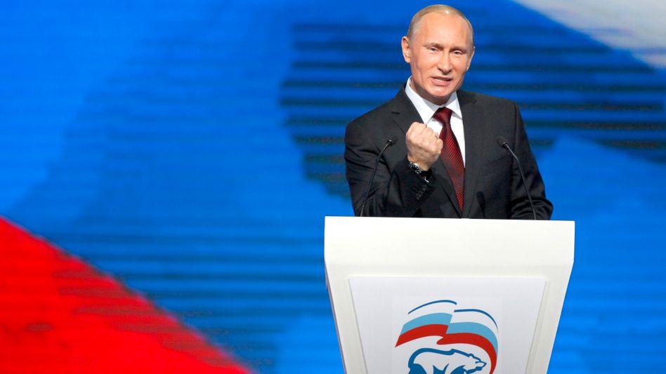 Russlands Premier Putin: Umstrittene Parlamentswahl spiegelt die politische Meinung der Bevölkerung wider.
