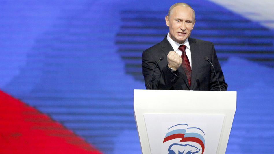 Russlands Regierungschef Putin: Deutliche Worte an US-Außenministerin Clinton