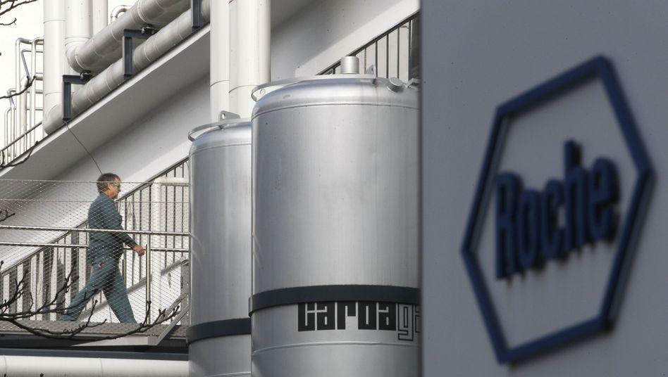 Roche in Basel: Unternehmen legt weiter zu