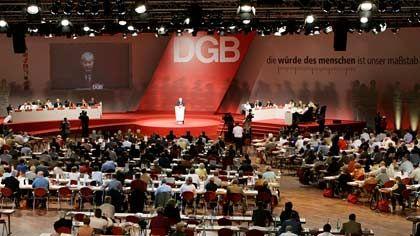 Ein Viertel aller Mitglieder ist weg: DGB-Bundeskongress