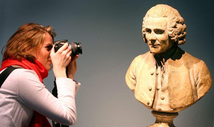 Übt heute noch Faszination aus: Der Philosoph Jean-Jacques Rousseau