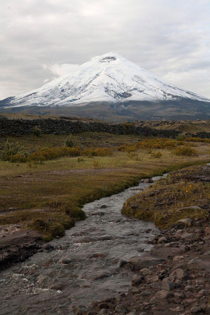 5897 Meter hoch ist der perfekt geformte Cotopaxi