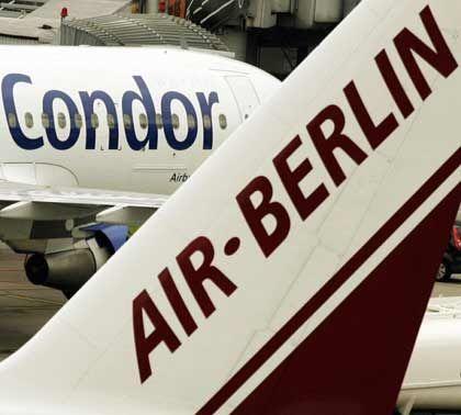 Air Berlin muss warten:Lufthansa blockiert Condor-Übernahme bis 2010