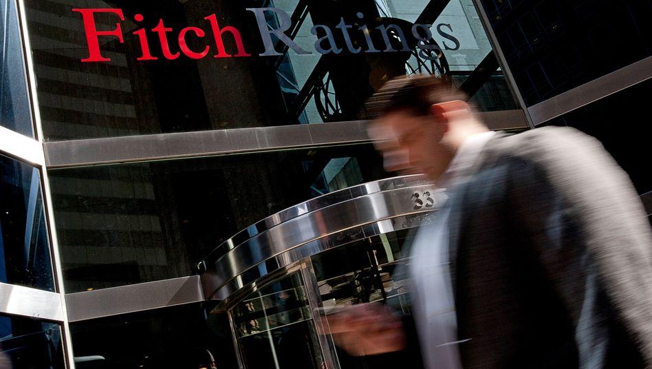 Die Verschuldung der Unternehmen ist doppelt so hoch wie 2008: Fitch-Büros in New York.