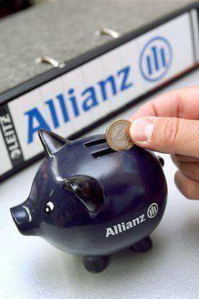 Sparen übers Internet: Versicherungsvertreter verkaufen Allianz-24-Produktei