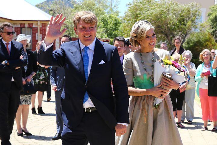Staatsbesuch: Im Oktober waren König Willem-Alexander und Königin Maxima zu Gast in Australien. Wo sie sich Weihnachten aufhalten, halten sie geheim.