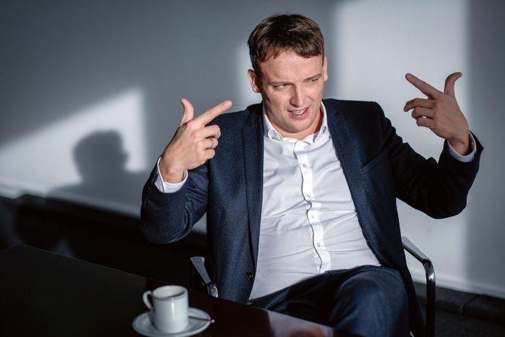 Gunst der Gründer: Christian Klein weiß sowohl Dietmar Hopp wie auch Hasso Plattner auf seiner Seite