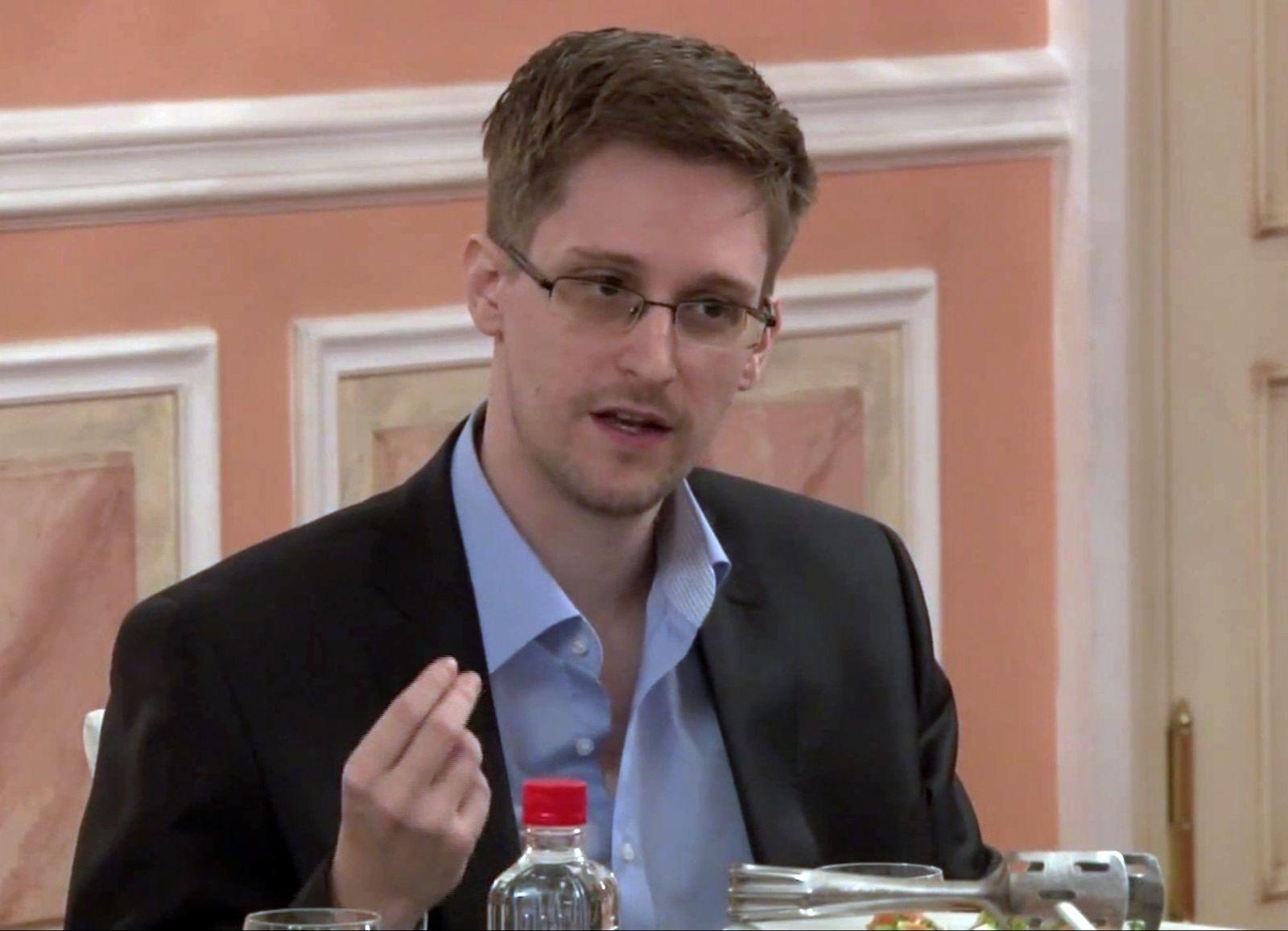 Zeugen NSA-Affäre/ Edward Snowden