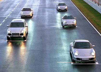 """""""Alle sind angespannt"""": Porsche-Modelle"""