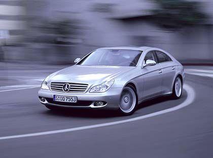 Viertürer: Mercedes CLS