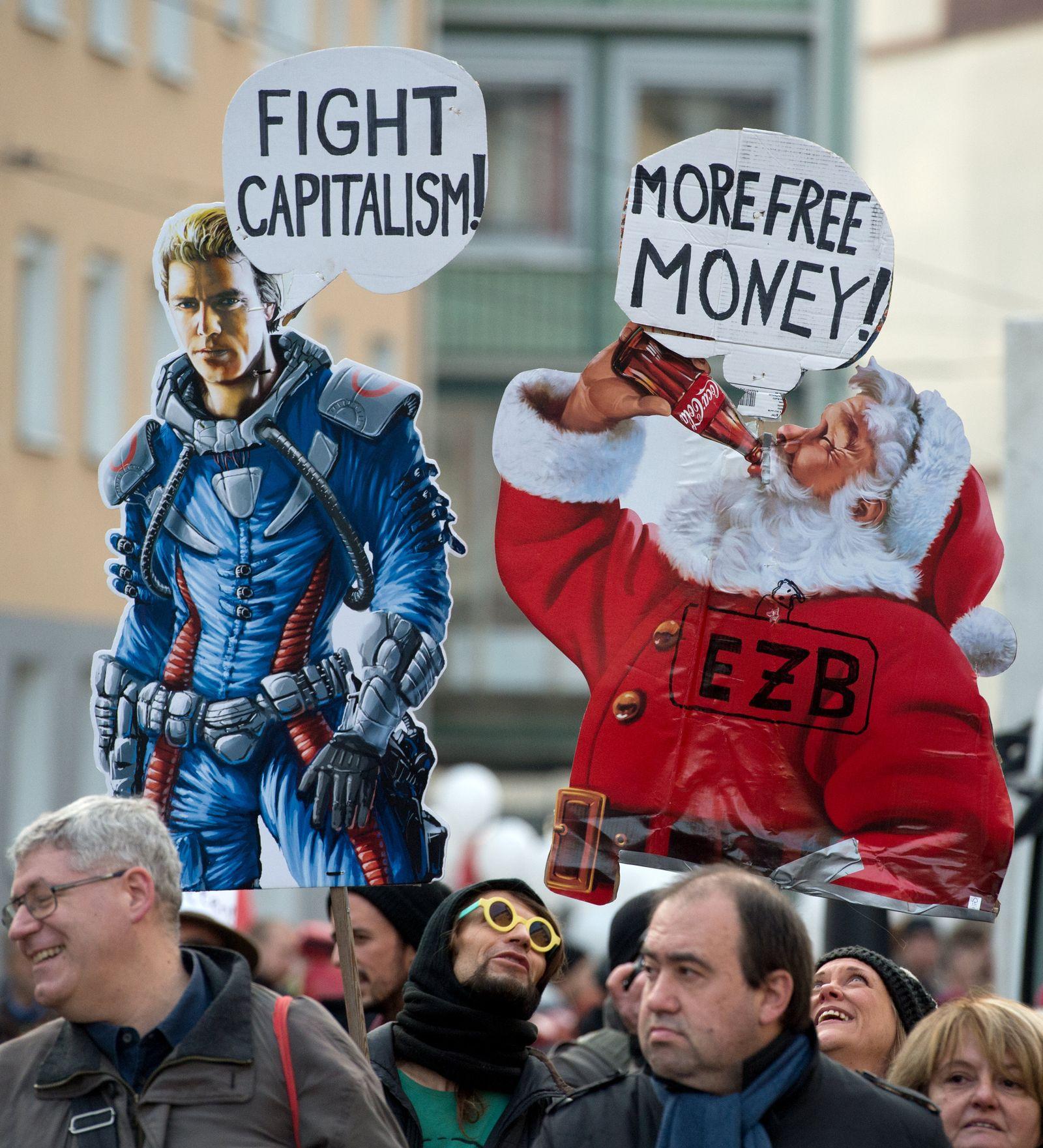 Blockupy-Demonstration an EZB eskaliert