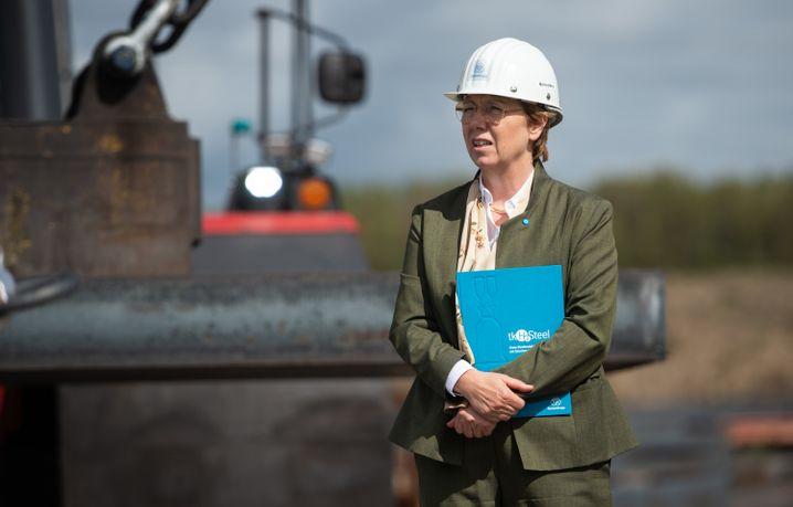 Setzt auf eine Zukunft mit Wasserstoff: Thyssenkrupp-CEO Martina Merz