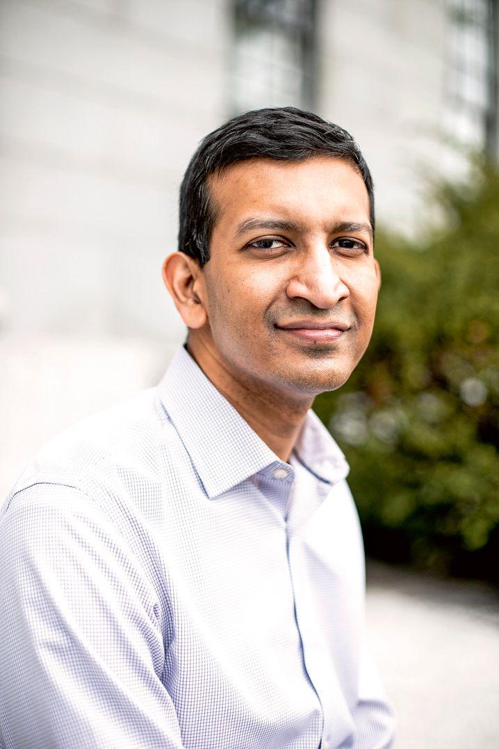 Smarter, schlaksiger Liebling des Silicon Valley: Raj Chetty, Harvard University