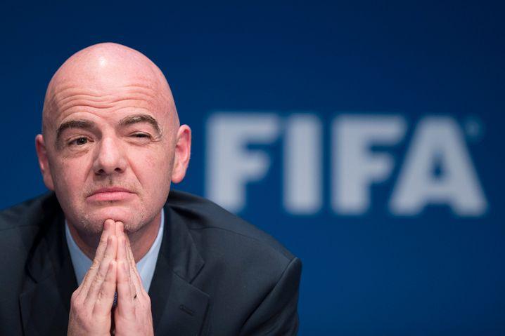 Schräges Führungsverständnis: Fifa-Präsident Gianni Infantino