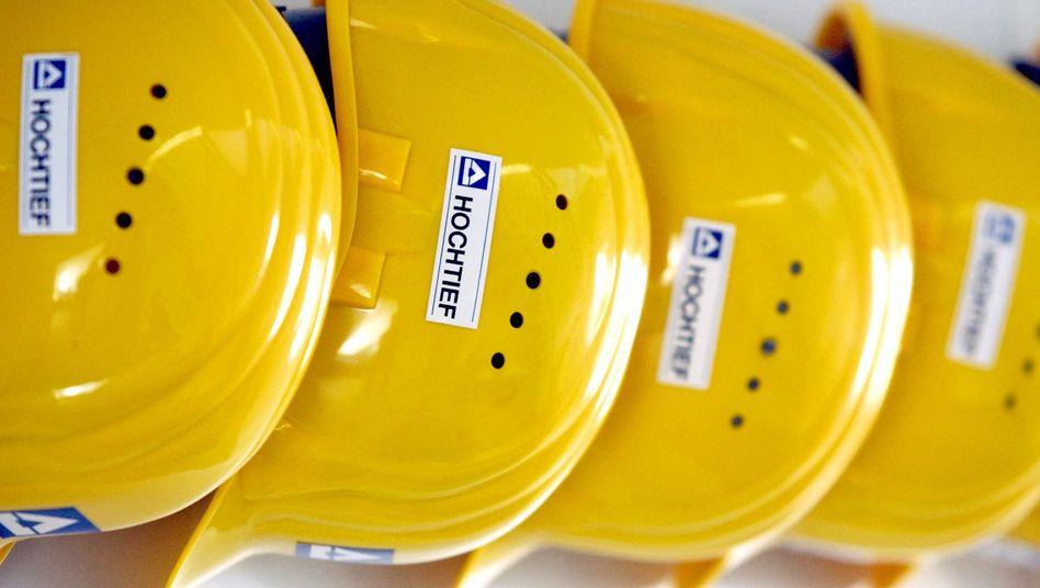 Baukonzern Hochtief: Nach dem Senken der Prognose rutschte der Aktienkurs rund 8 Prozent ab