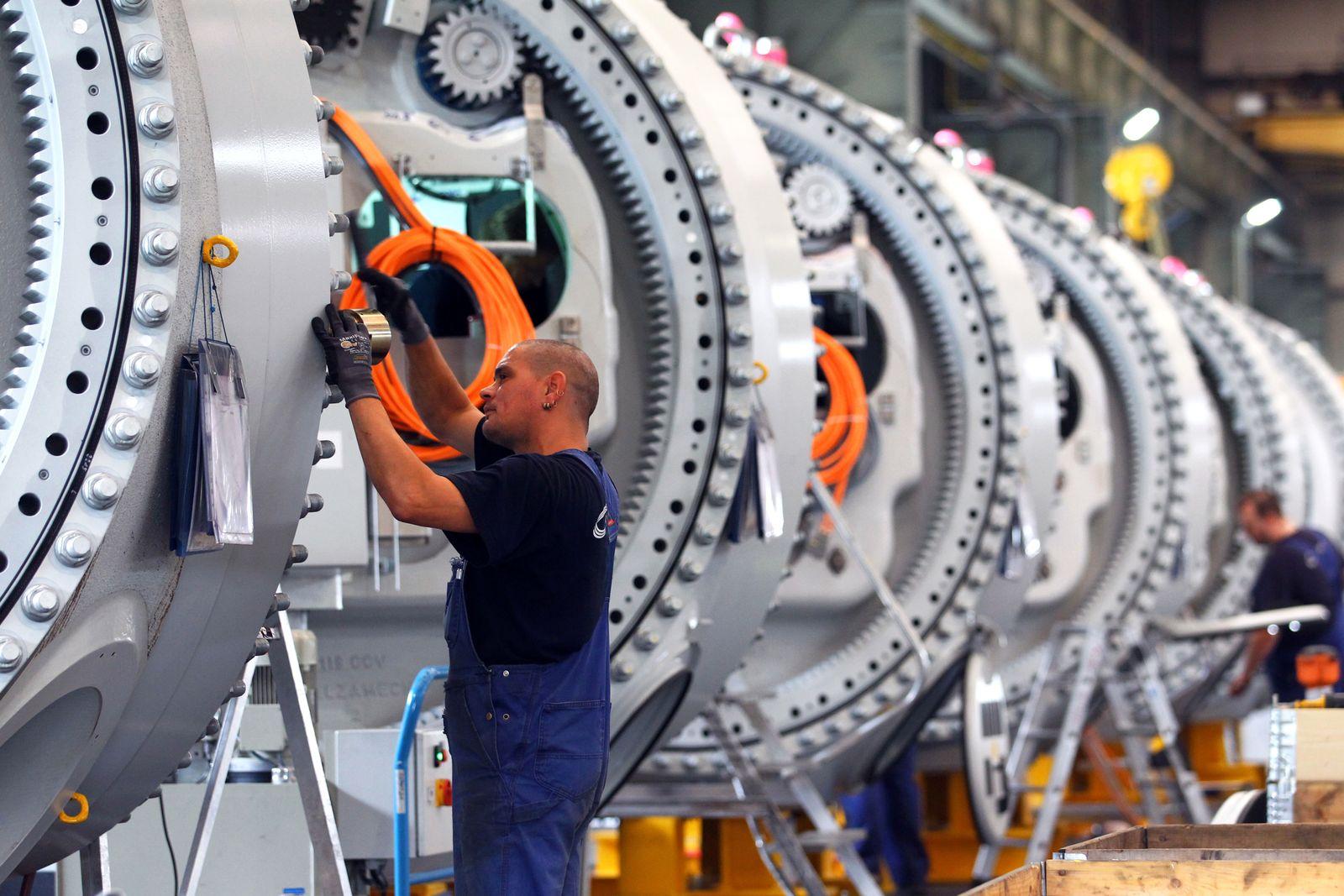 Deutschland / Konjunktur / Industrie / Maschinenbau