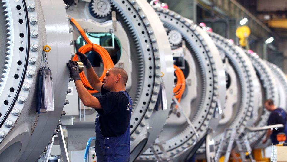 Maschinenbau: Die Auftragsbücher sind voll, der Ausblick ist optimistisch