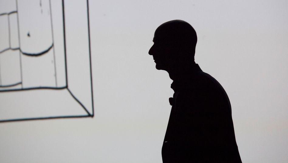 Highflyer: Sein privates RaumfahrtunternehmenBlue Origin hat Jeff Bezos nach der Gründung im Jahr 2000 jahrelang geheim gehalten