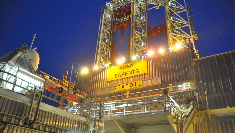 Bohrplattform von Statoil: Künftig keine Tankstellen mehr im Besitz