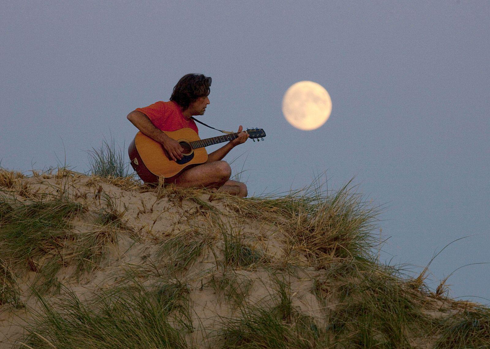 Natur/ Deutschland/ Umfrage/ Mondschein-Serenade