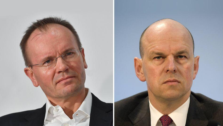 Wirecard-Chef Markus Braun, Aufsichtsrat-Chef Thomas Eichelmann: Das Unternehmen muss die Bilanzvorlage zum vierten Mal verschieben