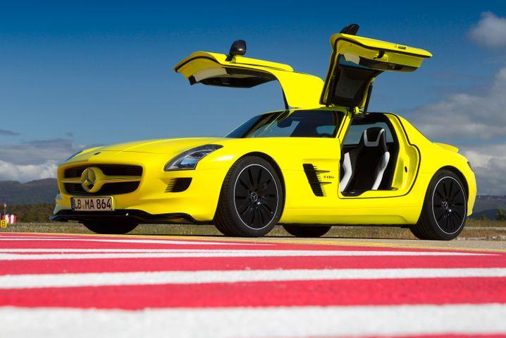 Mercedes SLS Elektro